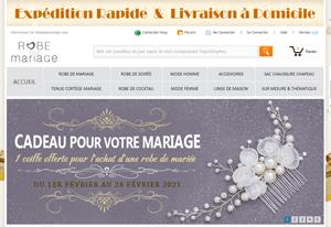 Promo Robe du Mariage